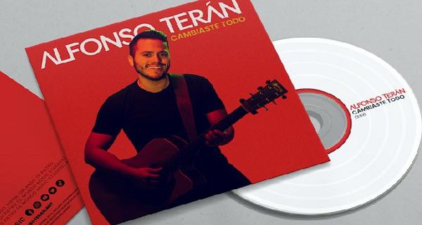 """Alfonso Terán promueve su más reciente sencillo """"Cambiaste todo"""""""