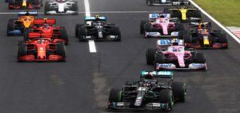 """Hamilton victoria en GP de Hungría y liderato del Mundial; """"Checo"""" Pérez llegó en séptimo"""