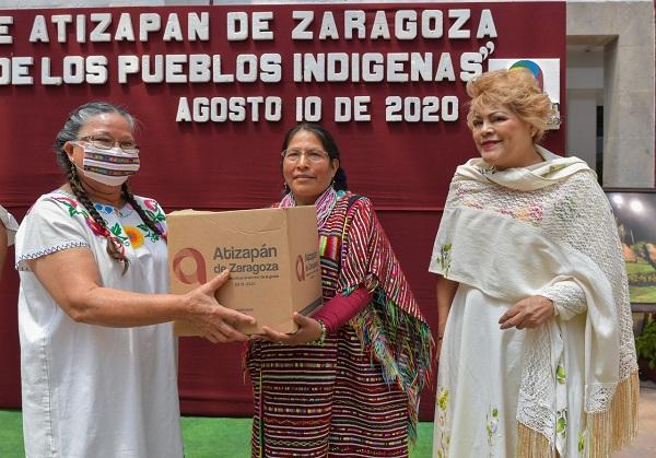 Para Atizapán apoyar a los indígenas no es moda ni pasatiempo: Ruth Olvera Nieto