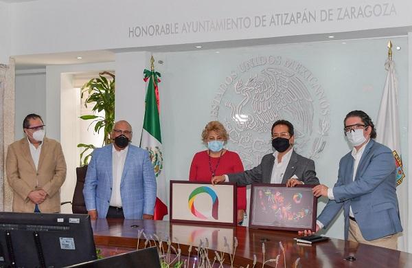 Atizapán y Coparmex metropolitano firman convenio de colaboración para reactivar desarrollo económico