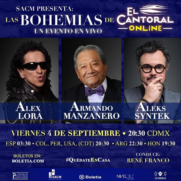 Llegan las Bohemias de El Cantoral online