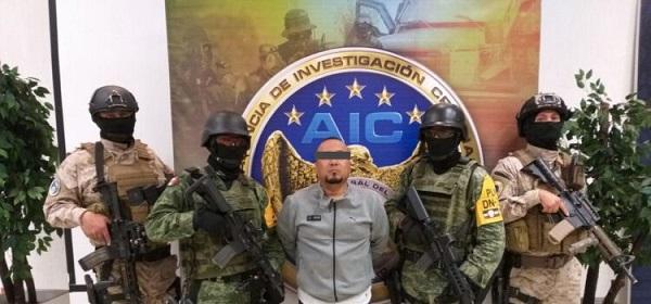 """Capturan a """"El Marro"""", líder del cártel Santa Rosa de Lima"""