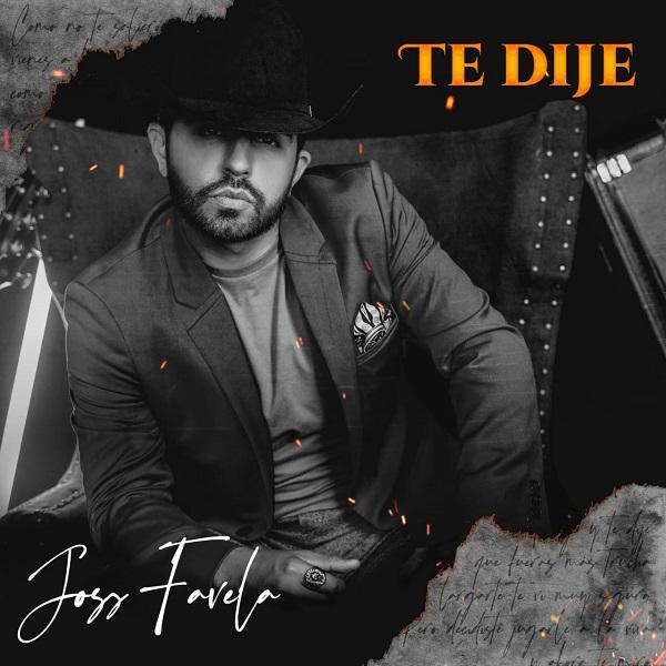 """Joss Favela, El Señor de la Composición, lanza nuevo sencillo de su autoría: Tte dije"""", un tema de desamor"""