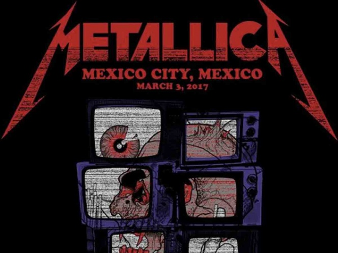 Metallica transmitirá hoy su épico concierto de 2017 en México