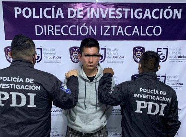 Detienen a narcomenudista en Alcaldía Iztacalco durante operativo