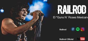 Railrod presentara su más reciente material 1985 en el Autoconcierto en el Foro Pegaso el viernes 7 de agosto