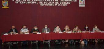 Atizapán, sede de la Mesa de Coordinación Intermunicipal de Policía de Género