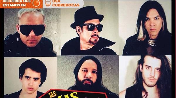 Víctimas del Dr. Cerebro anuncia concierto presencial en el Teatro de la Ciudad