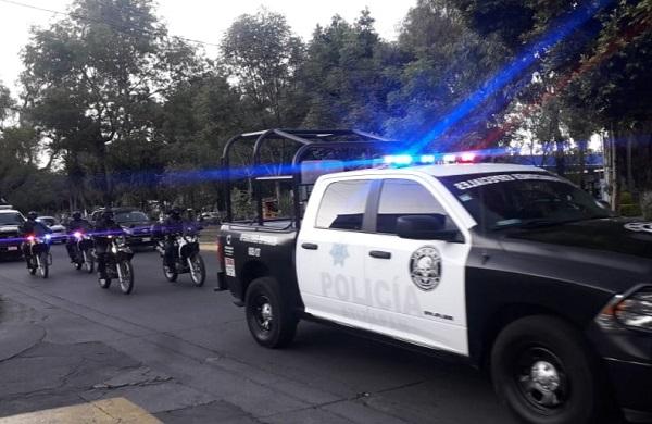 """Guardia Nacional y Policía de Atizapán ponen en marcha vigilancia especial por """"El Buen Fin 2020"""""""