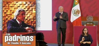 AMLO: Empresas deducen impuestos financiando a Claudio X González