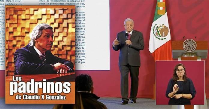 AMLO: Empresas deducen impuestos financiando a Claudio X González