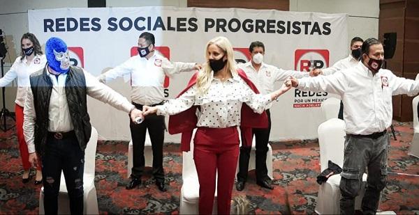 Malillany Marín y Blue Demon Jr. tomaron posesión de sus cargos en RSP