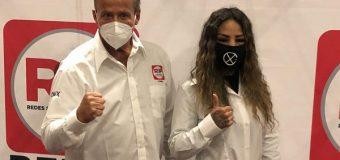 Mariana Juárez 'La Barbie' y Alfredo Adame tomaron Posesión de sus nuevos cargos en Redes Sociales Progresistas