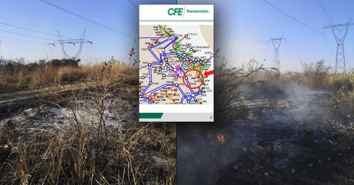 Sí hubo incendio en Tamaulipas que inició apagón; CFE presenta pruebas