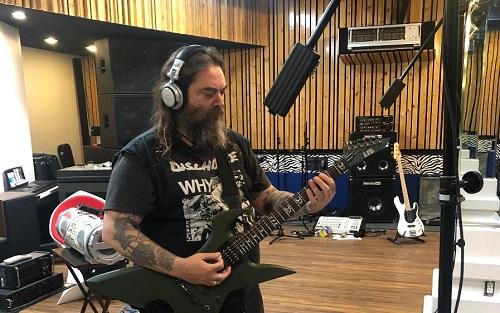Soulfly se encuentra en el estudiopara grabar su siguiente disco
