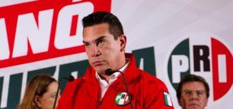Militantes del PRI exigen la renuncia de Alejandro Moreno por apoderarse de candidaturas a diputados
