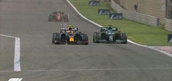 """Sergio """"Checo"""" Pérez queda en quinto lugar en GP de Baréin"""
