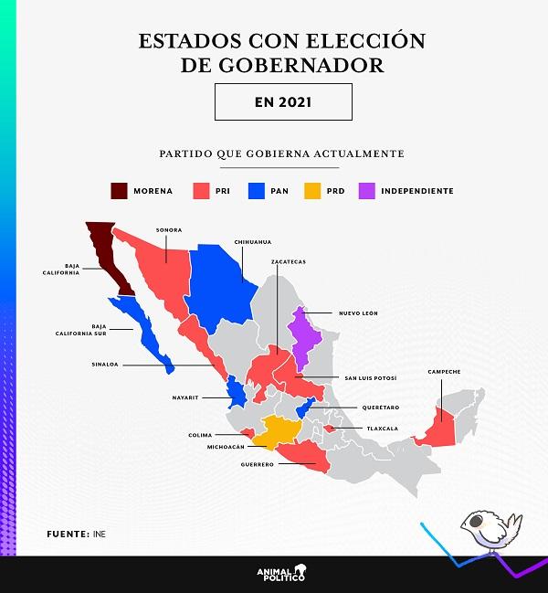 Ni todo el PRIANRD le ganarían, hoy, a Morena; encabeza preferencia en 12 estados