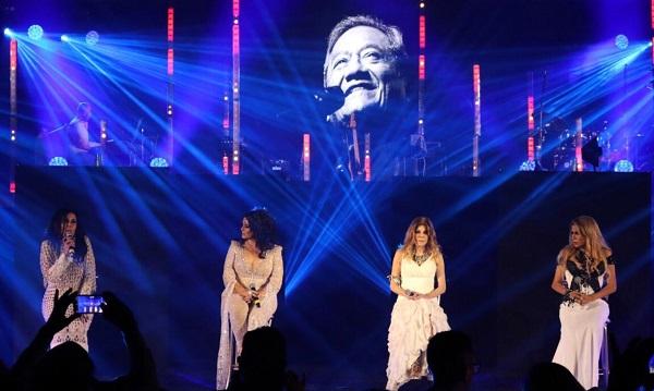Triunfan GranDiosas en concierto con público en La Maraka