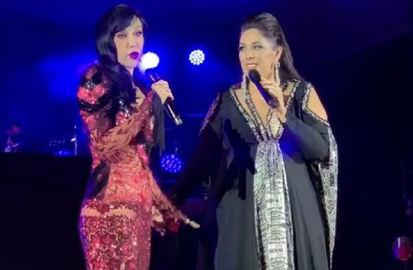 """Triunfaron anoche Susana Zabaleta y Regina Orozco """"Juntas y Revueltas"""" en La Maraka, en concierto presencial"""