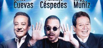 Hagamos un Trío, con Jorge Muñiz, Francisco Céspedes y Carlos Cuevas será el primer concierto 100% presencial