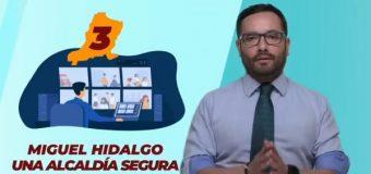 Romo convertirá a Miguel Hidalgo en la alcaldía más segura