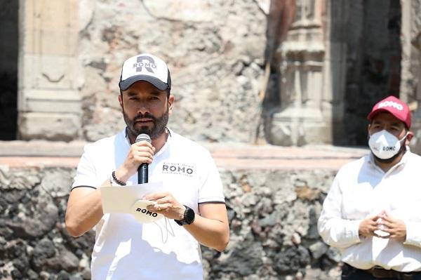 Romo convertirá el Pensil Mexicano en Centro de Arte y Cultura