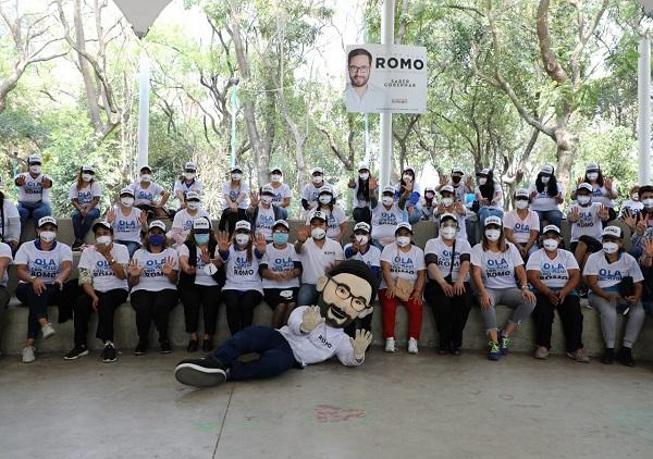 Suma Romo Ola de Mujeres panistas a su campaña
