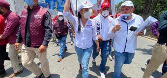 No permitiremos el regreso a Metepec de la mafia de la corrupción que representa el PRIAN: Gaby Gamboa